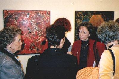 En 1999, PERCHO participe à une exposition collective à l'Hôtel de Ville d'Yverdon-les-Bains sur le thème du calendrier de l'an 2000.